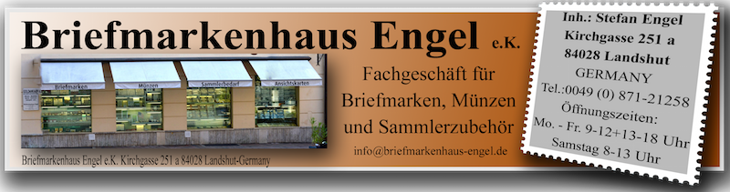 Briefmarkenhaus Engel