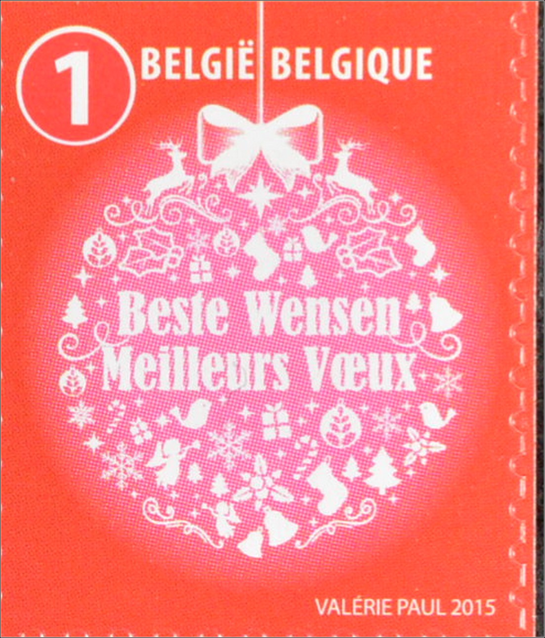 belgien belgium 2015 michel nr 4613 14 weihnachten. Black Bedroom Furniture Sets. Home Design Ideas
