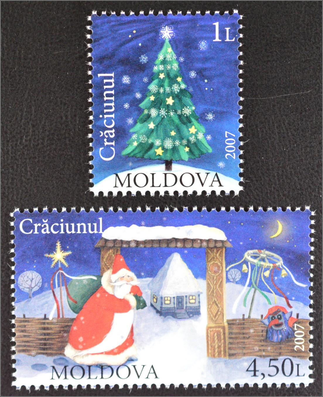 moldawien moldova 2007 minr 602 03 weihnachten. Black Bedroom Furniture Sets. Home Design Ideas