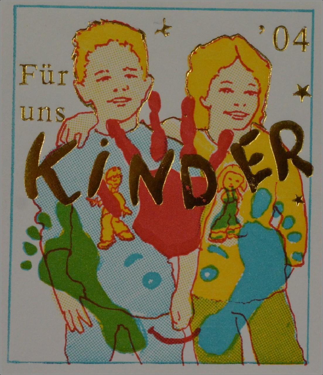 Brd Ersttagsbrief Fdc Michel Nr 2418 Für Uns Kinder Hand U