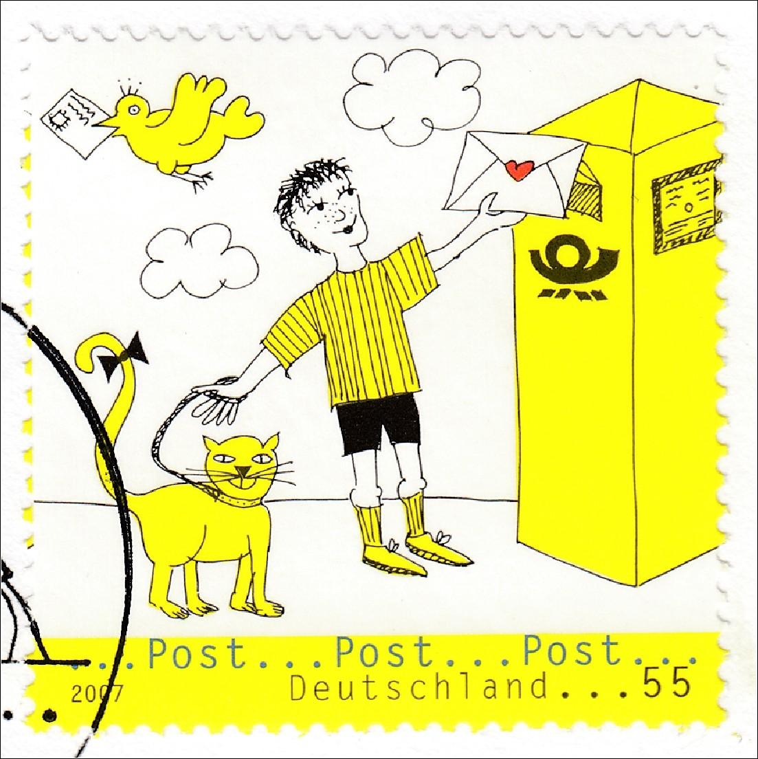 bund brd ersttagsbrief fdc michel nr 2596 97 post bildergeschichte briefmarkenhaus engel. Black Bedroom Furniture Sets. Home Design Ideas