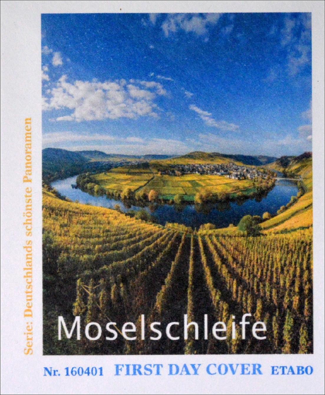 aprilgronn 3225 : Bund BRD Ersttagsbrief FDC 7. April 2016 MiNr. 3225-26 Moselschleife Panorama \u00b7 Briefmarkenhaus ...