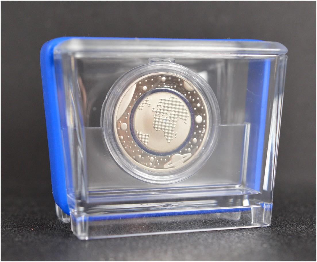 Deutschland 2016 5 Euro Münze Blauer Planet Erde Polymerring