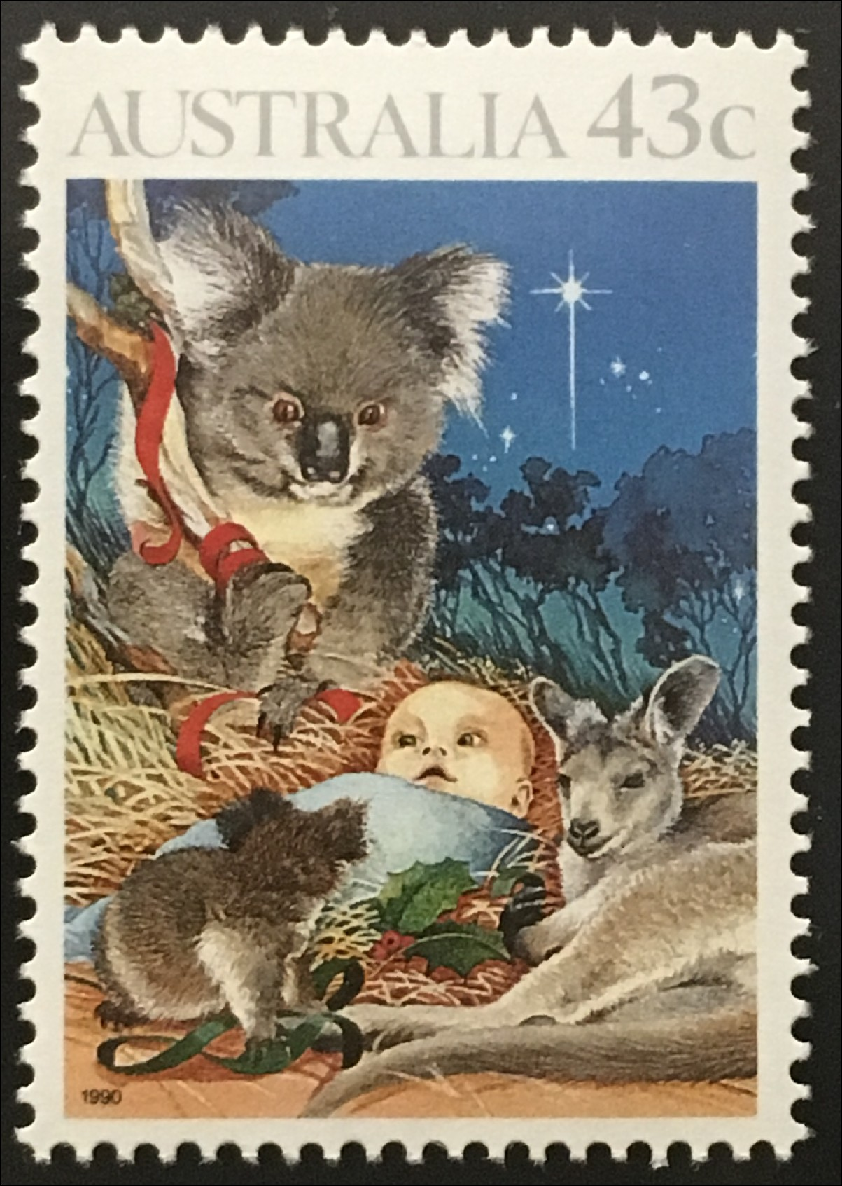 australien weihnachten kookaburra christkind koalab r. Black Bedroom Furniture Sets. Home Design Ideas