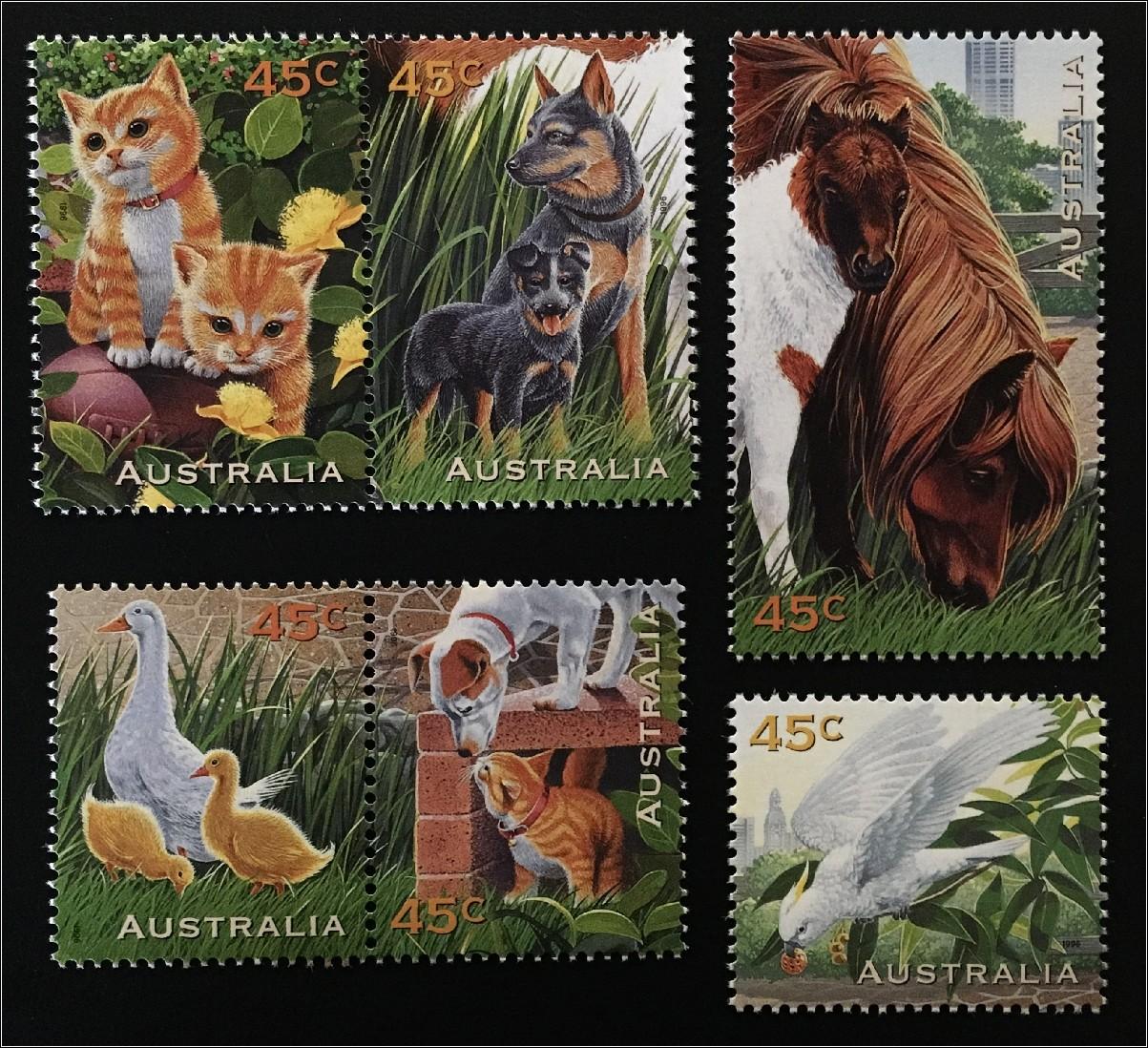 Postfrisch 1977 Gemälde Australien 640 kompl.ausg.