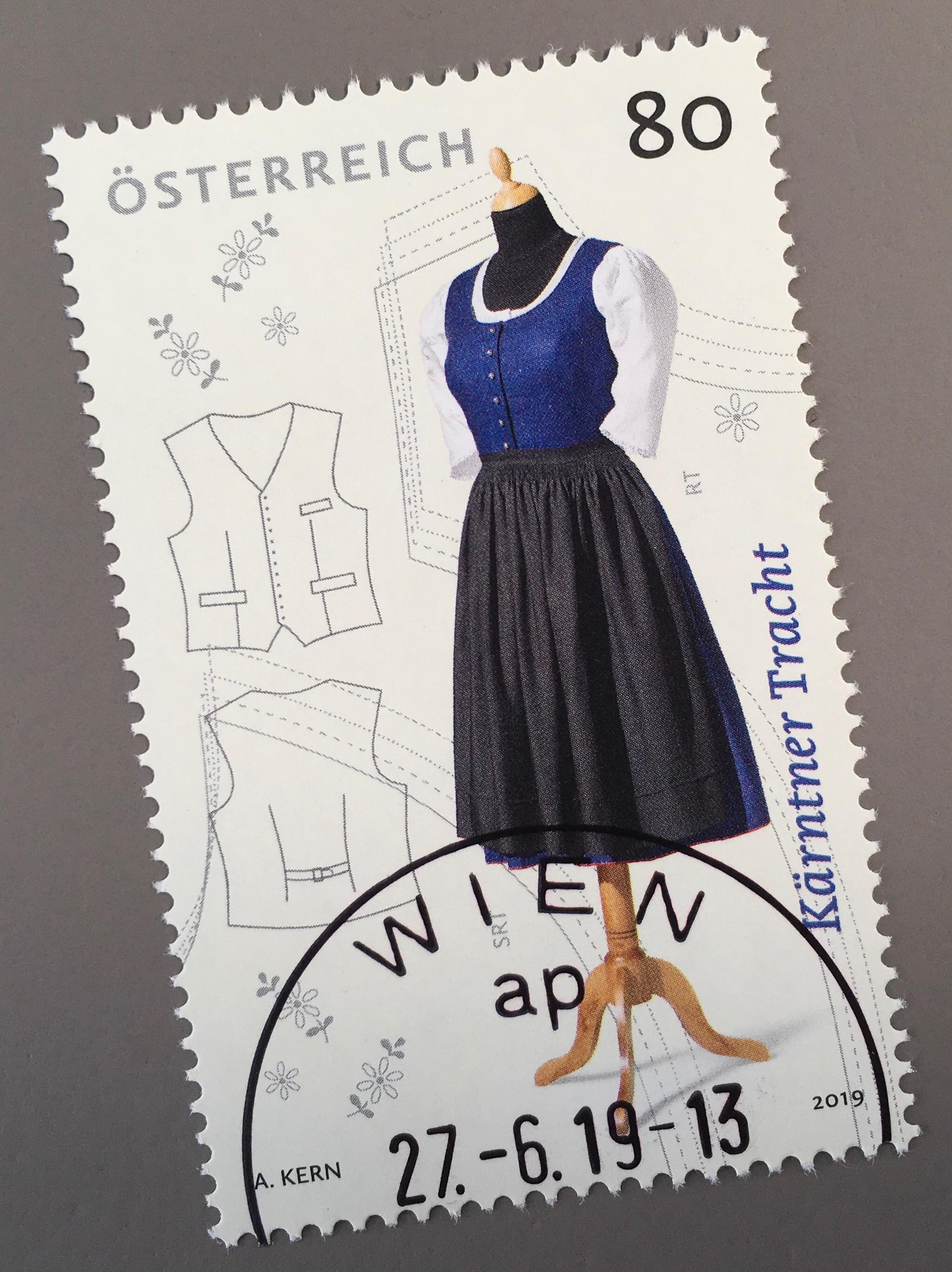half off 7d750 0e97a Details zu Österreich 2019 Nr. 3472 Kärtner Tracht Heimathandwerk  Trachtenbekleidung