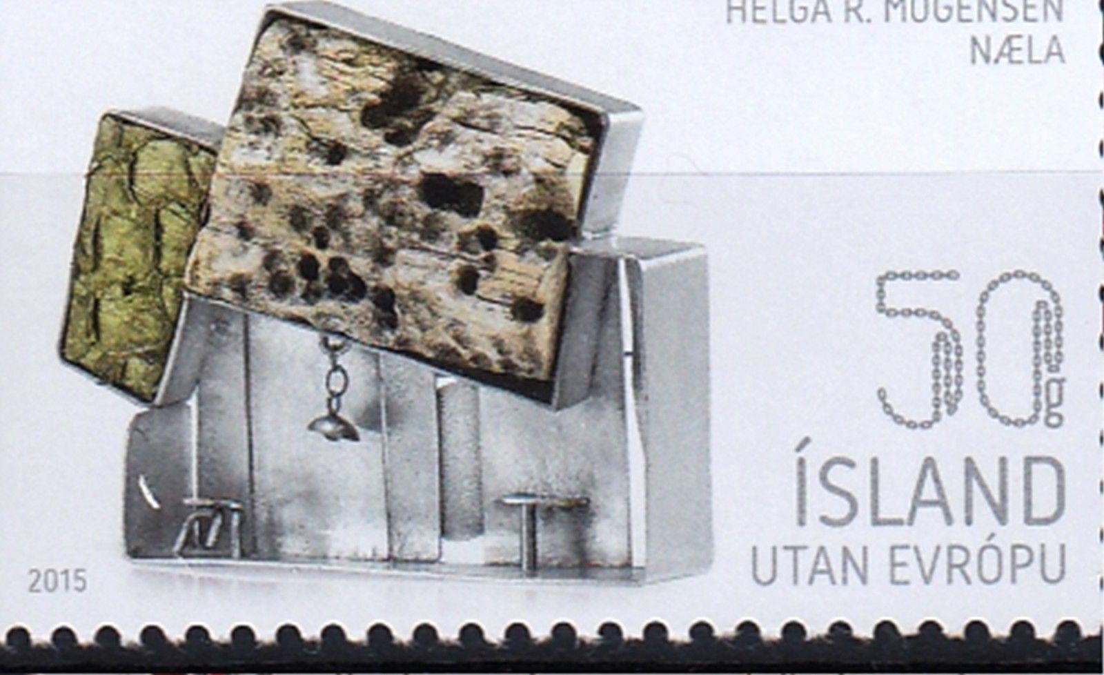 Island 2015 Mi.-Nr. 1455-58 Isländisches zeitgenössisches Design ...