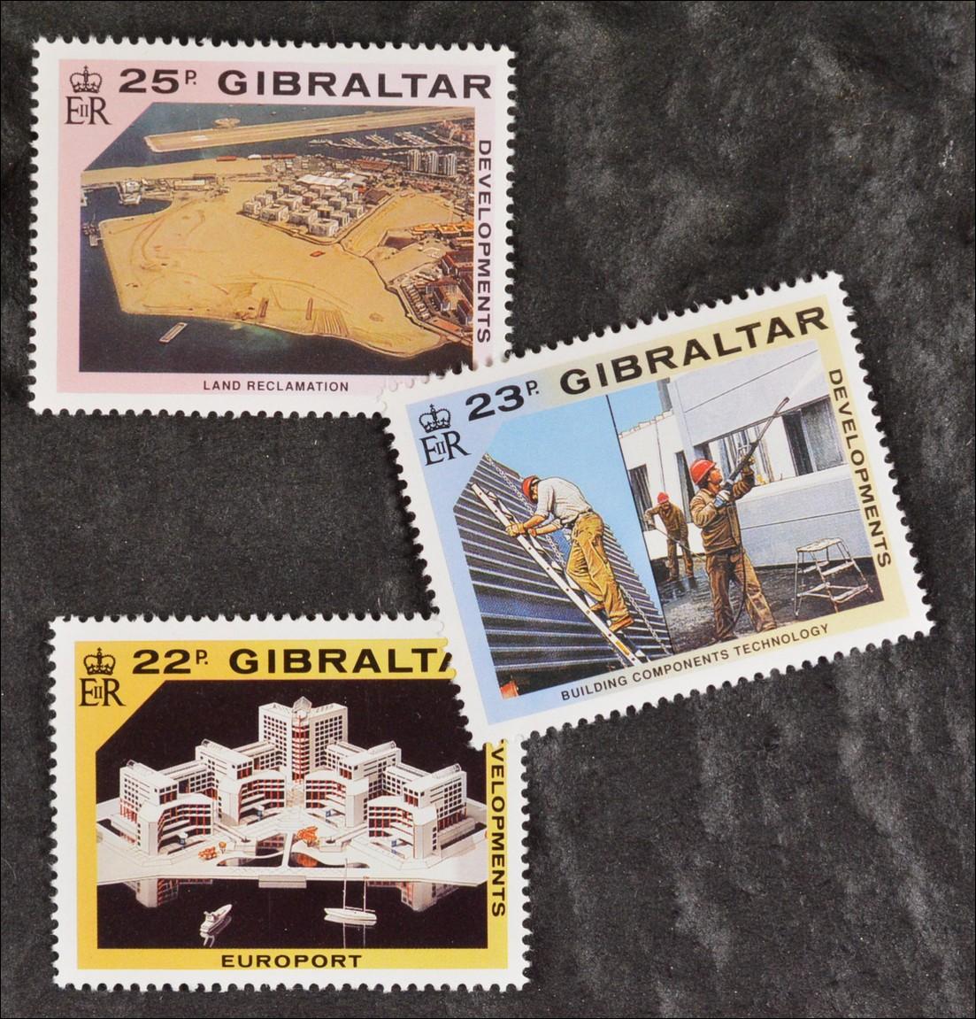 Europa 200584 Gibraltar 1965 Nr 169-170 Postfrisch