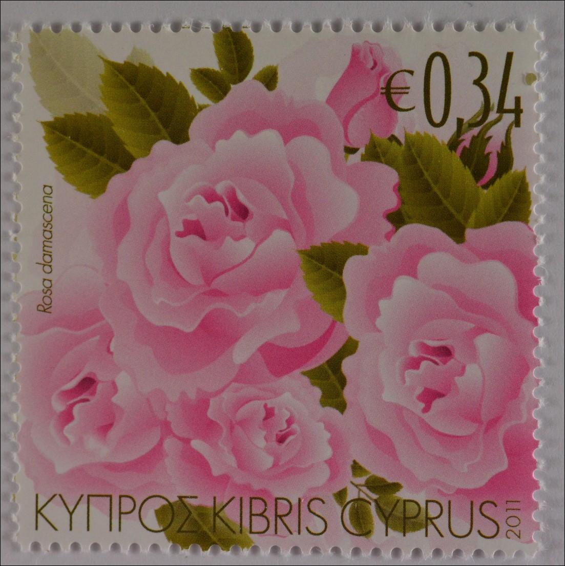 cyprus greek cyprus 2011 mi no 1204 scented plants cyprus rose ebay. Black Bedroom Furniture Sets. Home Design Ideas