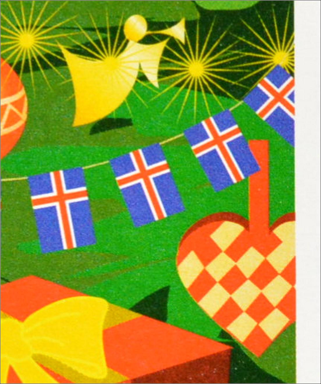 Weihnachtsessen Island.Island Iceland 2002 Michel Nr 1024 25 Weihnachten Geschenke
