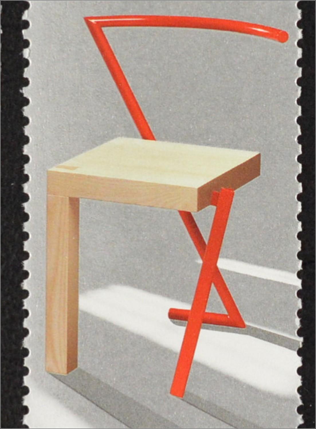 Island Iceland 2010 Michel Nr. 1257-60 zeitgenössisches Design Möbel ...